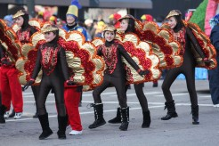 Thanksgiving dance troupe