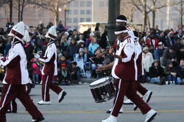 Thanksgiving drum major (band)
