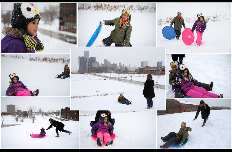 D sledding feature 1